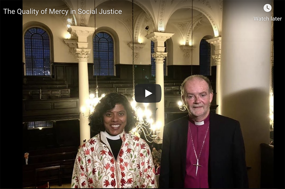 The Quality of Mercy in Social Justice