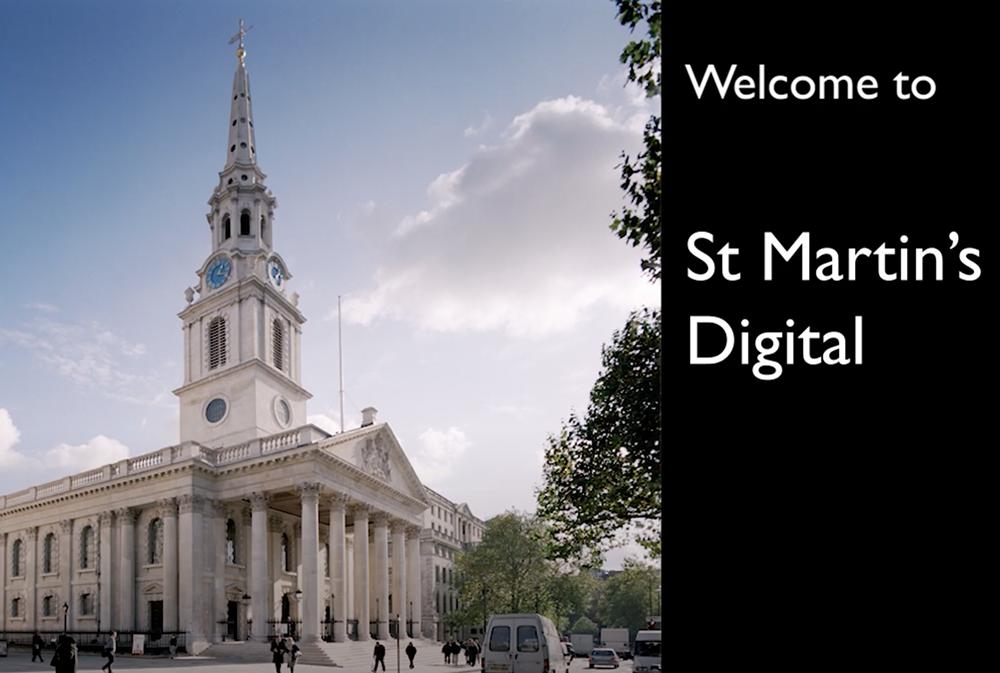 Introducing St Martin's Digital