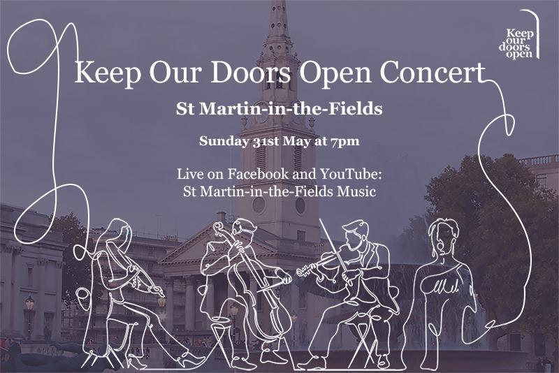 Keep Our Doors Open Concert