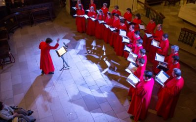 Catch up with members of the Choir of St Martin-in-the-Fields