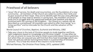 Church, LGBTQI+ and the Priesthood of All Believers