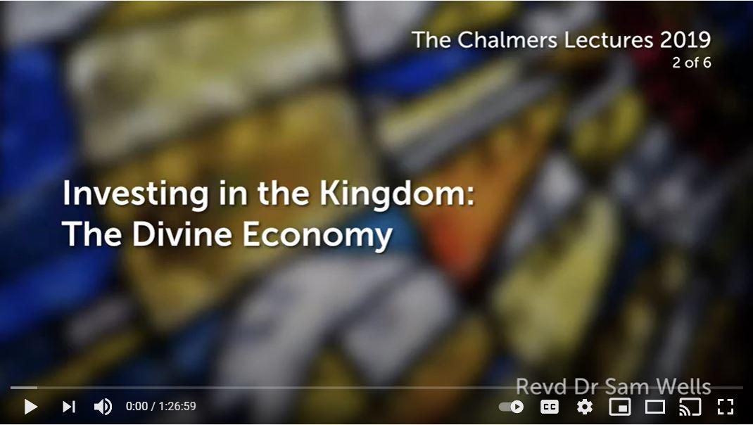 Investing in the Kingdom: The Divine Economy