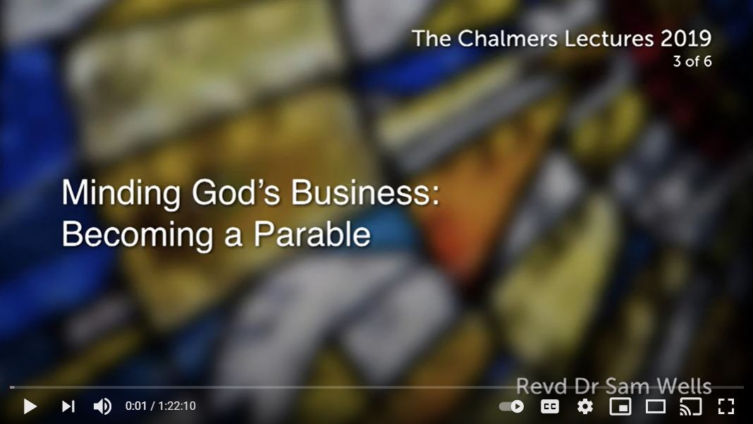 Minding God's Business: Becoming a Parable