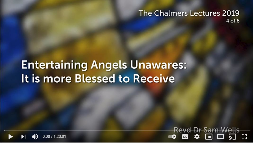 Entertaining Angels Unawares: It is more Blessed to Receive