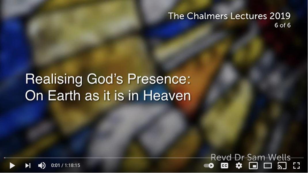 Realising God's Presence: On Earth as it is in Heaven